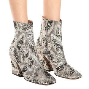 Dries Van Noten Brocade Ankle Boot